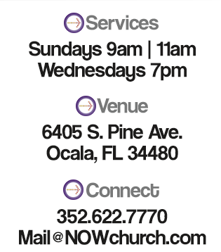 Service Times, Venue Location, and Connect Info